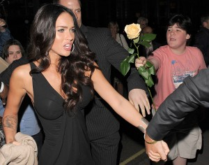 Sad Megan Fox picture