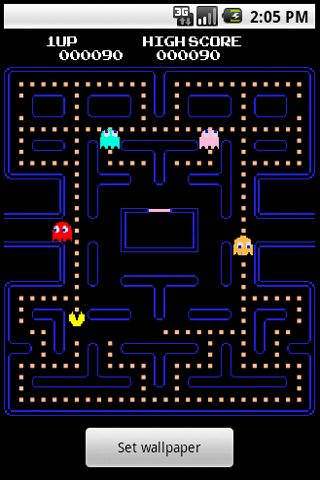 Retro Arcade An Android Live Wallpaper Brandons Blog